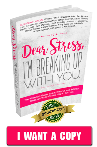 Kimberly Francis Book Dear Stress I'm breaking up with you